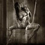 "Tirage photo: ""Shibari – Stripped M-shape"""