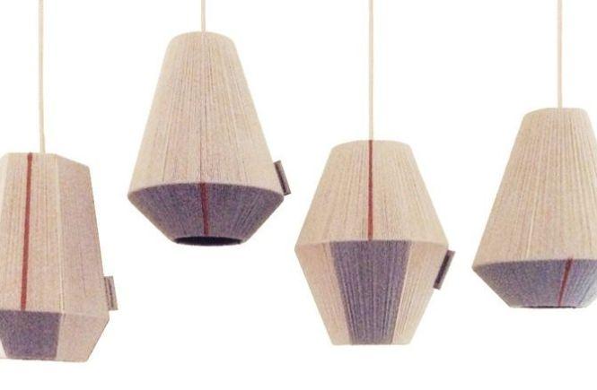 lampara hechas a mano en lana