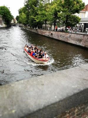 Bootsfahrt-Brügge