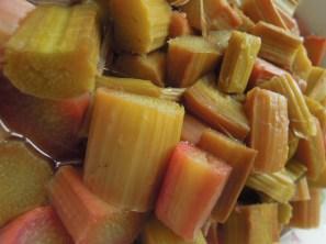 Baked Rhubarb. V, W/f, Df