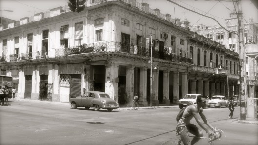 Havana's glory days long gone, but the crumbling skeletons of beautiful buildings remain.