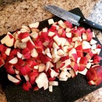 potato salad beginnings