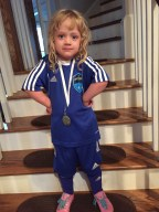 season medal finally arrived last week!