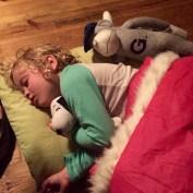 floor sleepin'