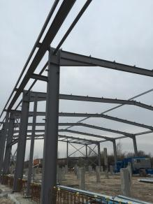 Week 17 social enterprise centre steel frame (Copy)