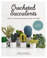 Book. Crocheted succulents