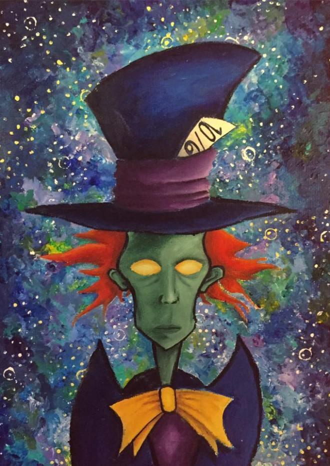 Zombie Hatter (2016) by Emma Walters