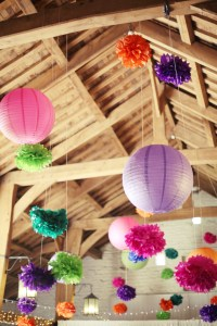 ceiling_with_pompoms