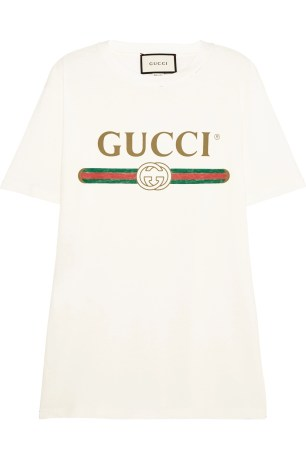 http://www.matchesfashion.com/products/Gucci-Logo-print-cotton-T-shirt-1074877