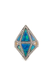 http://www.matchesfashion.com/products/Noor-Fares-Diamond%2C-sapphire%2C-opal-%26-grey-gold-ring-1096661