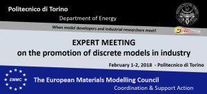 EMMC-CSA Expert meeting on the promotion of discrete models in industry
