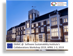 EMMC @ Collaboration Workshop 2019, APRIL 1-3, 2019 – Loughborough University, UK