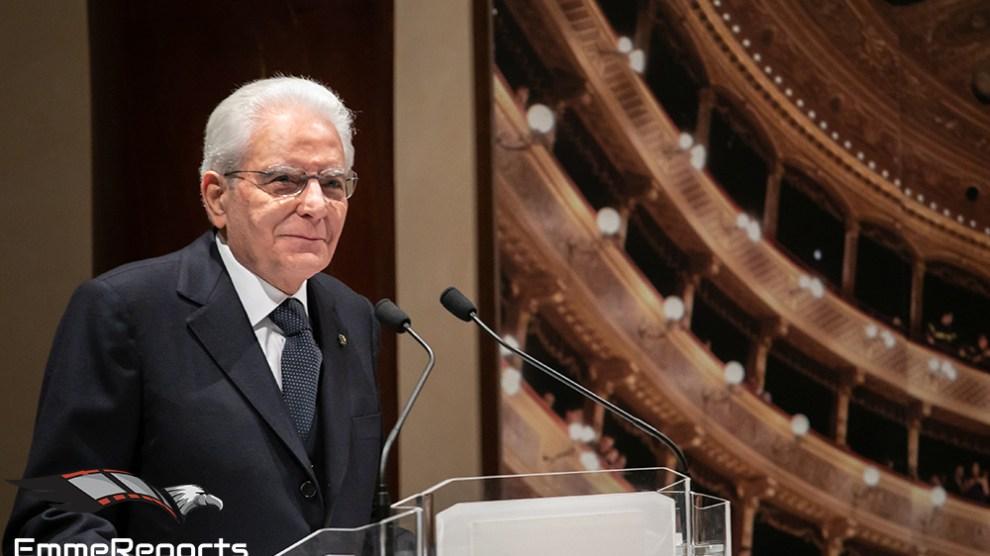 Repubblica Italiana - il Presidente Sergio Mattarella