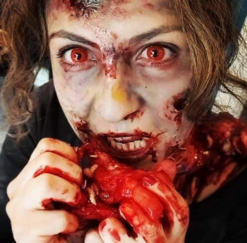"""Make up """"scary zombie"""": il tutorial"""