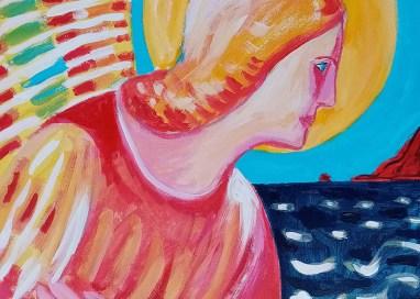 L'Angelo dell'Annunciazione: la nuova opera di Togo al Museo di Sant'Angelo di Brolo