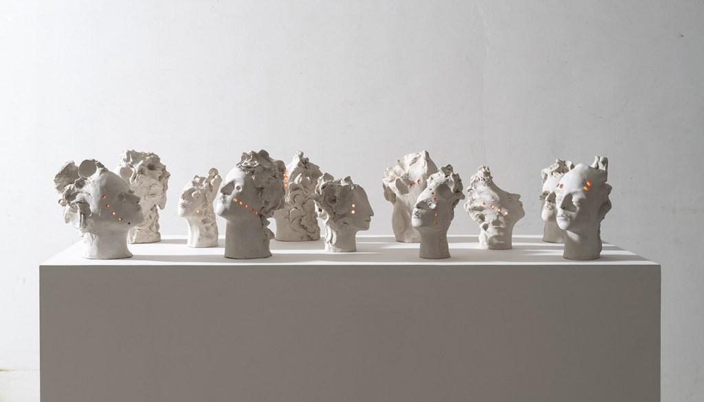 """""""Mutanti"""" di Francesca Tulli, la nuova forma della scultura classica"""