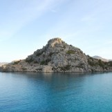 Lake and Rock Formation - WIY