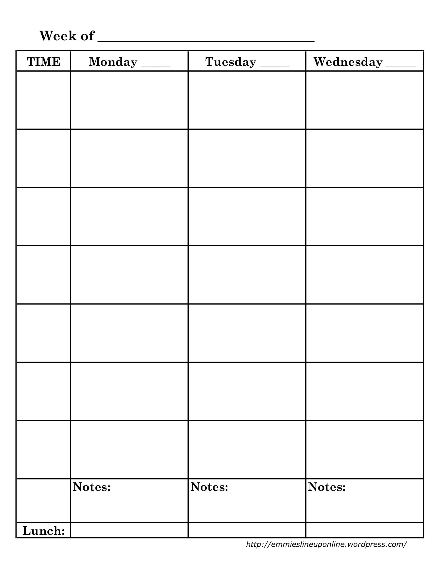 Homeschool Lesson Planner Free Downloads