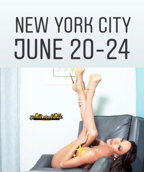 Mia Isabella NYC June 20 - June 24