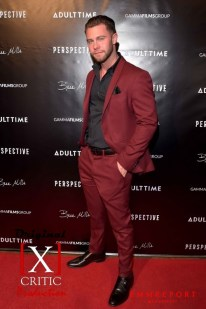"""HOLLYWOOD - SEPTEMBER 21: Actor Seth Gamble arrives for the """"Perspective"""" movie premiere on September 21, 2019 in Hollywood, California. (Photo by Glenn Francis/Pacific Pro Digital Photography)"""