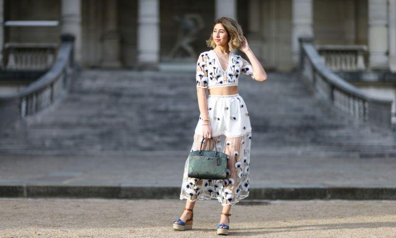 Comment rester chic pendant la canicule… selon les filles de la mode (via La Parisienne)