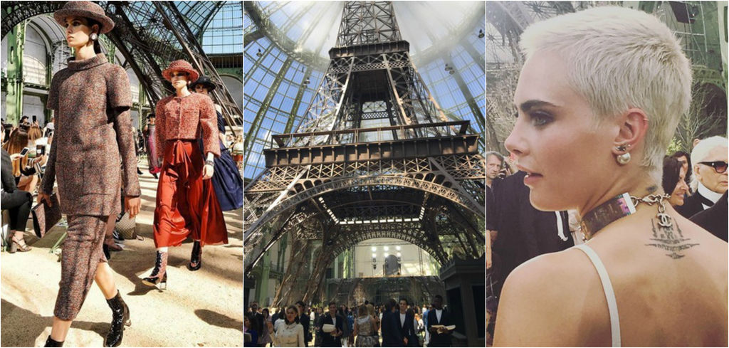 Le défilé Chanel Haute Couture en 5 moments forts (via Grazia.fr)