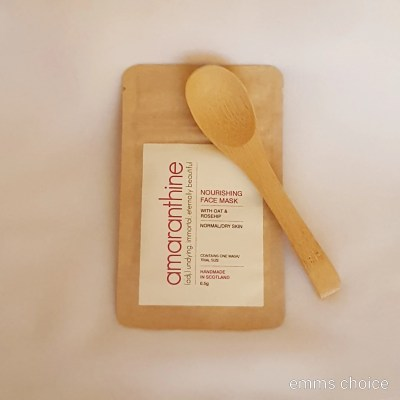 Face Mask and spoon