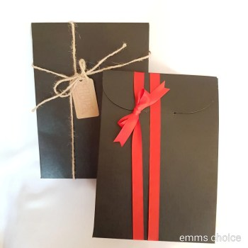 recycled card gift box