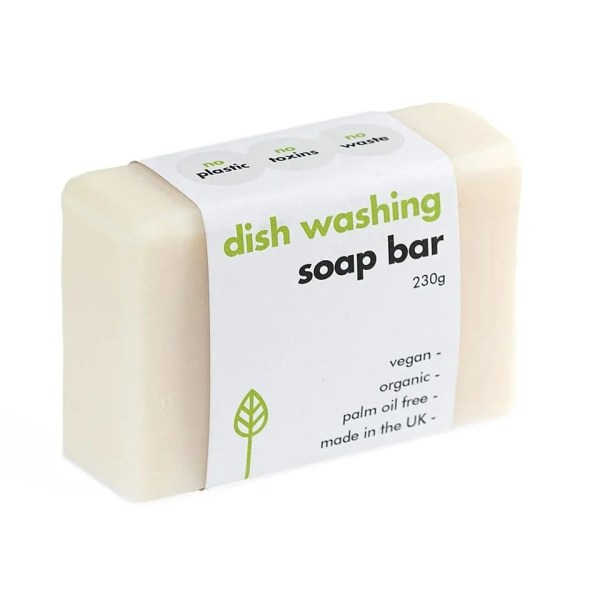 large solid dishwashing soap block