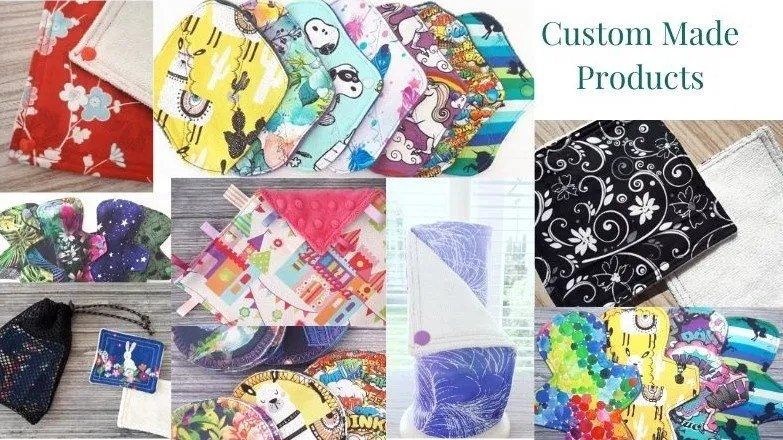 reusable hand made fabric products