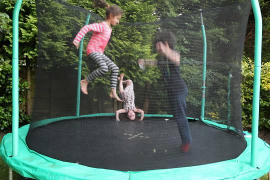 Mad trampoline skills