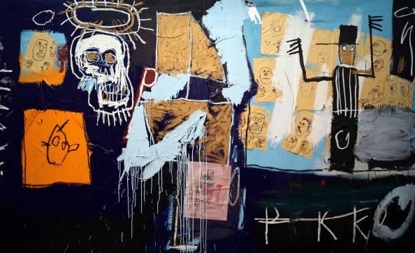 Jean Michel Basquiat - Slave Auction 1982