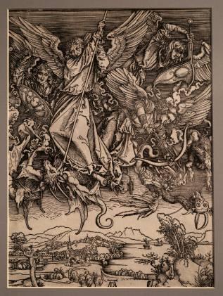 Albrecht Durer - St Michael fighting the dragon 1498