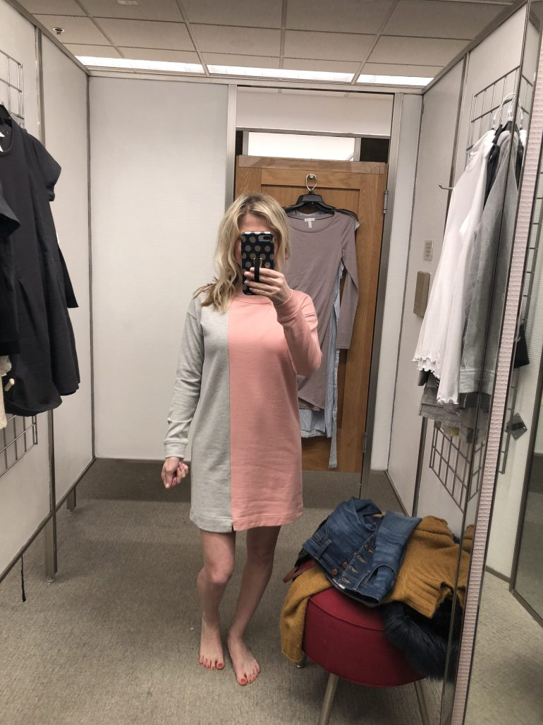 Nordstrom Dress Try on Session