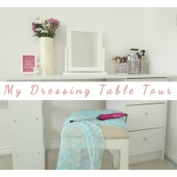 My Bedroom Dressing Table Tour