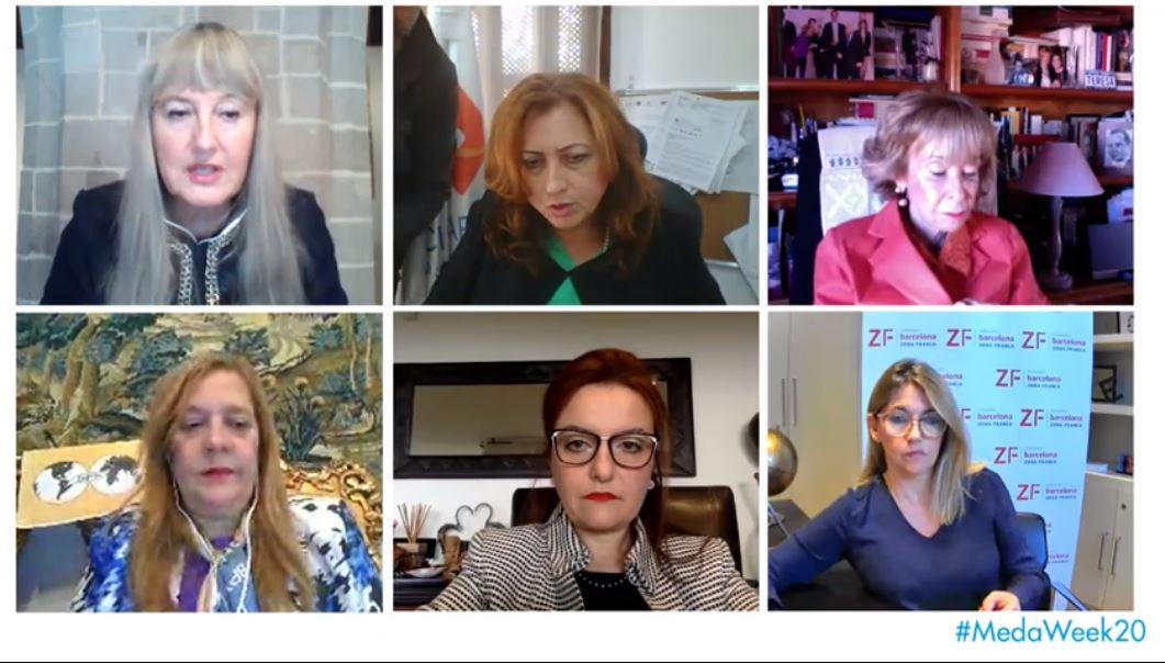 Prof. Ayadi participates at the XII Mediterranean Women Entrepreneurs Forum