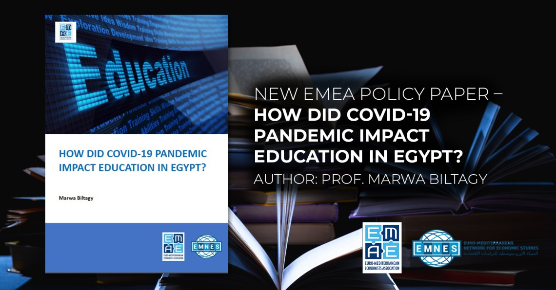 New EMEA policy paper – How did Covid-19 Pandemic Impact Education in Egypt?