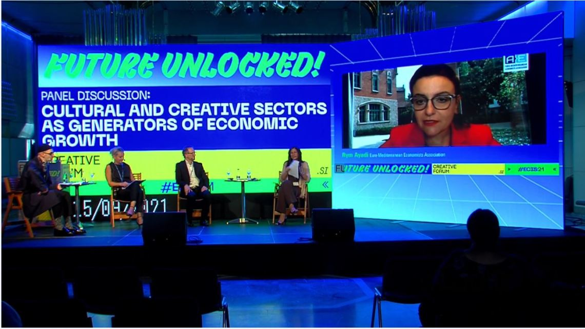 EMEA President, Prof. Rym Ayadi, participates at the European Creative Industries Summit 2021