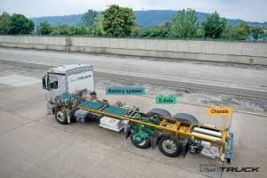 Mercedes-Benz Trucks; Urban eTruck; Elektro-Lkw