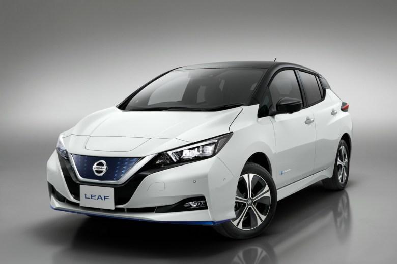 Representational Image Of Nissan LEAF e+