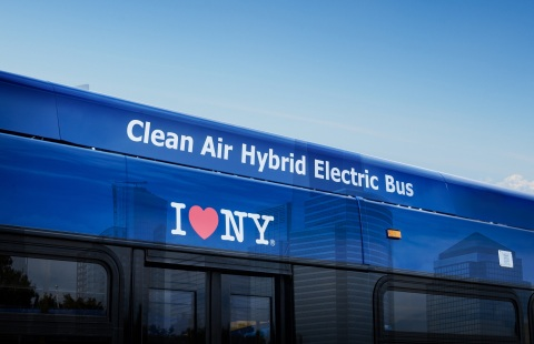 BAE Systems, a world leader in electric propulsion systems, announced its selection by New York City Transit Authority to supply 435 electric hybrid