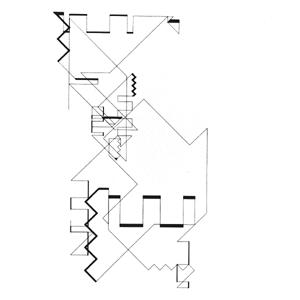 Manfred Mohr, serie P-018, 1969