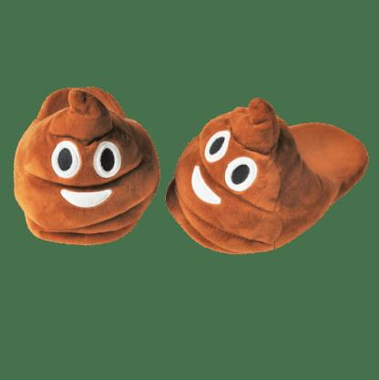 Emojitofflor som är en bajshög