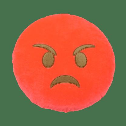 Emojikudde som är arg