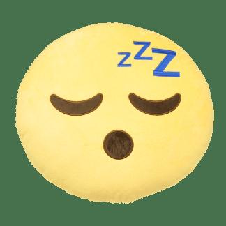 Emojikudde som sover och snarkar