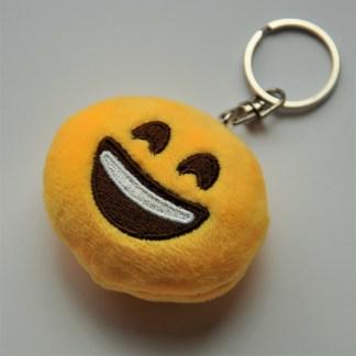 Emojinyckelring - Glad och leende
