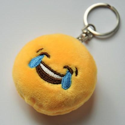 Emojinyckelring - Skrattgråtande