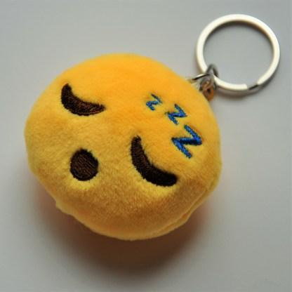 Emojinyckelring - Sovande