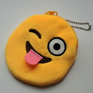Plånbok - Blinkande med tungan ute