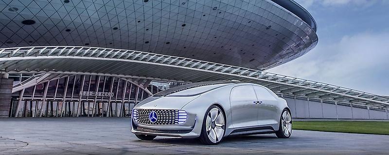 Roboter Auto, Autonom Auto, Mercedes - Studie -mercedes-benz-daimler-rise-2018-hongkong - Foto Mercedes - 4 ---Mercedes-Benz F 015 Luxury